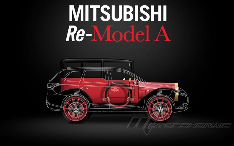 The 2018 Mitsubishi Re-Model A: A Modern-Day Rendition