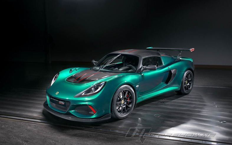 Lotus Exige Cup 430: New Engine Delivering 430 hp
