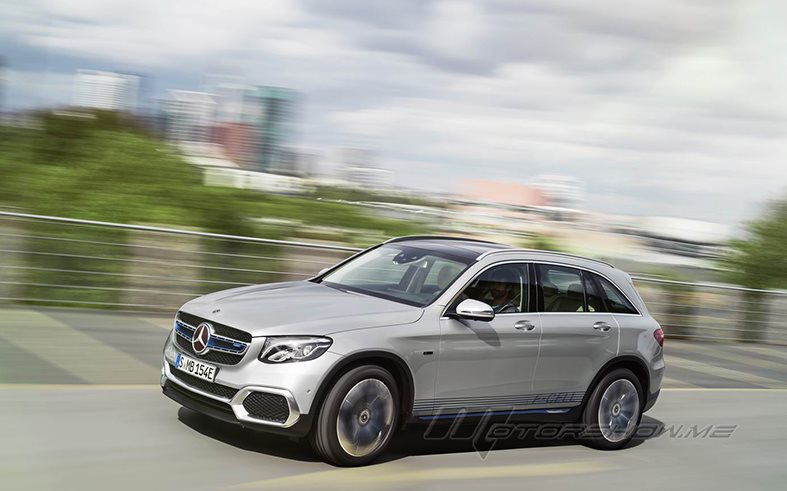 Mercedes-Benz GLC F-CELL: Electric Vehicle With Fuel-Cell/Battery Powertrain