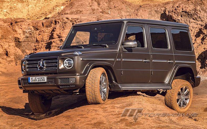 Mercedes-Benz G-Class: Completely Updated Interior