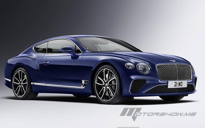 2018 Continental GT: The Most Advanced Bentley Features Ever Built
