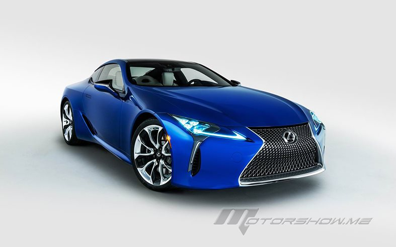 Dynamic Design For The 2018 Lexus LC Inspiration Series