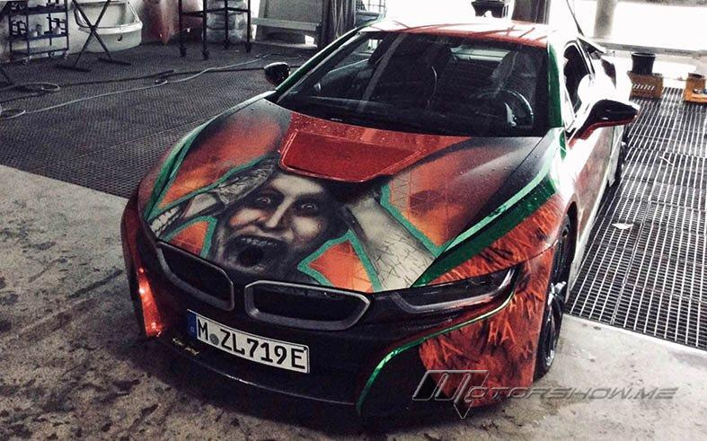 A Crazy Price For The Joker-Themed BMW i8