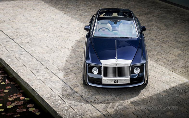 2018 Sweptail: A Rolls-Royce But Like None Other Before