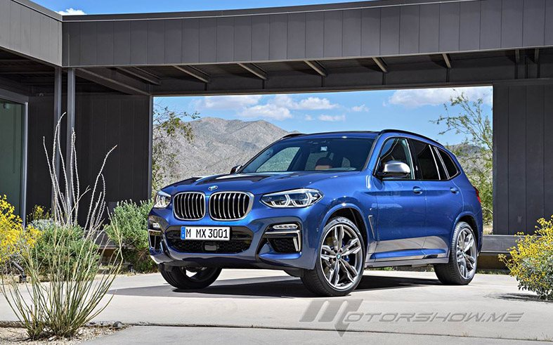 Dynamic Design For The 2018 BMW X3 xDrive M40i
