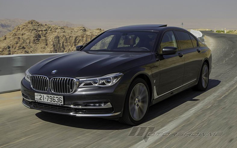 The 2018 BMW 740e: Dynamics and Efficiency