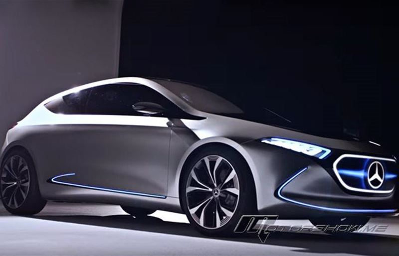 Video: When Designers Meet the Mercedes-Benz Concept EQA