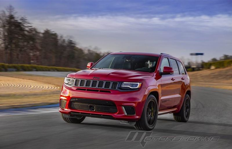 2018 Grand Cherokee Trackhawk: The Most Powerful SUV Ever - 707 HP