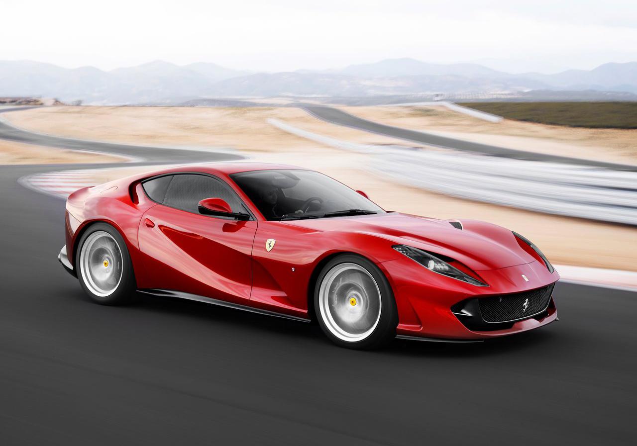 v12 engine powered 2018 ferrari 812 superfast rh motorshow me