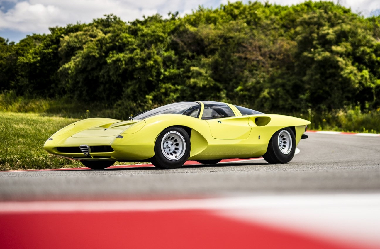 In Pictures The 1969 Alfa Romeo 33 2 Coup Speciale