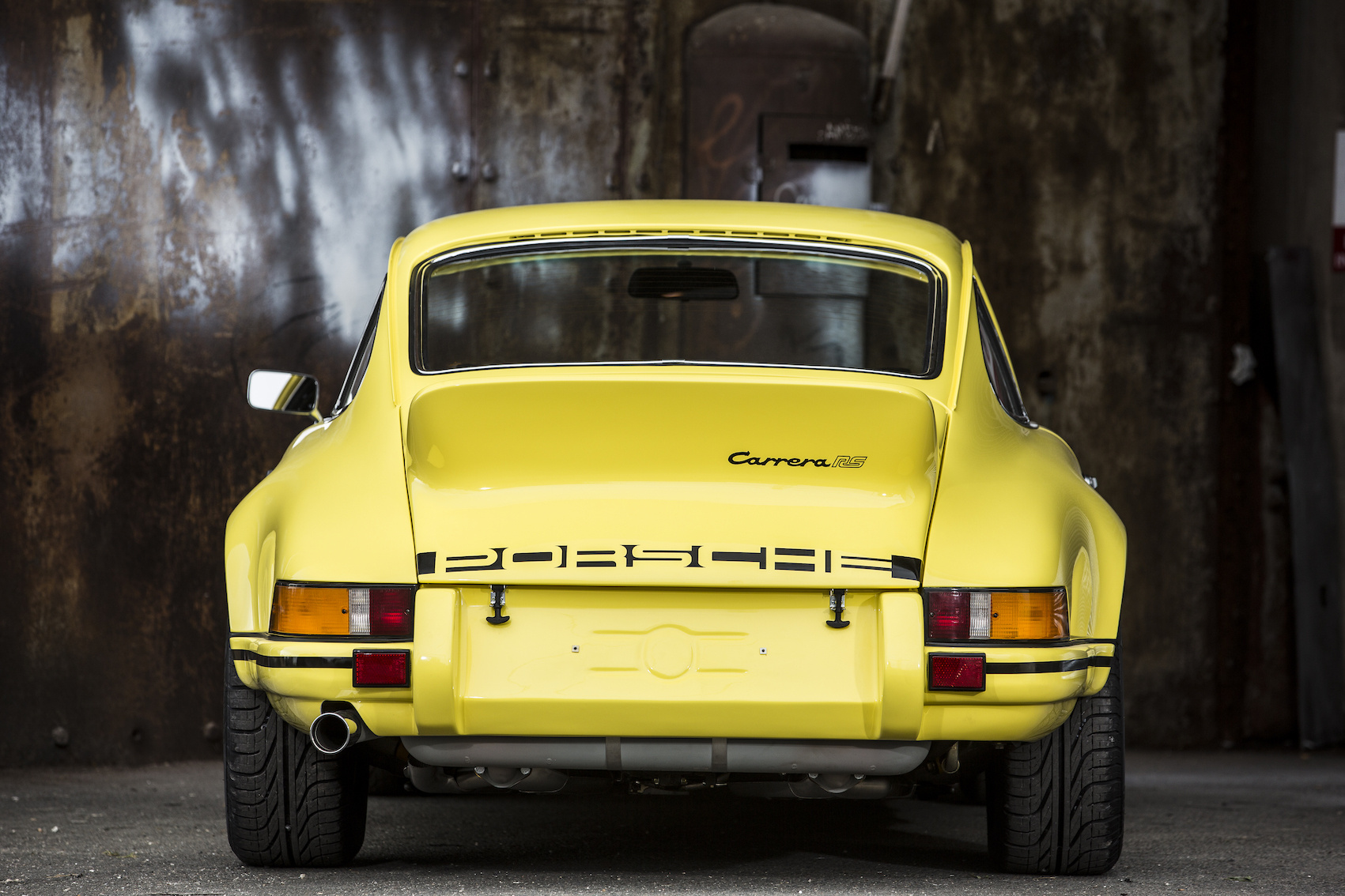 In Pictures: The 1973 Porsche 911 2.7 RS Lightweight