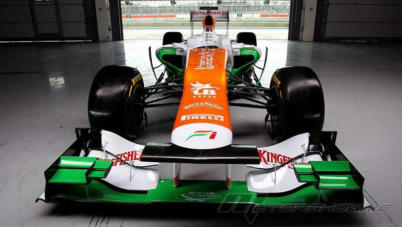 2012 Sahara Force India VJM05