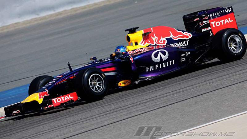 2014 RBR F1 Bahrain Tests