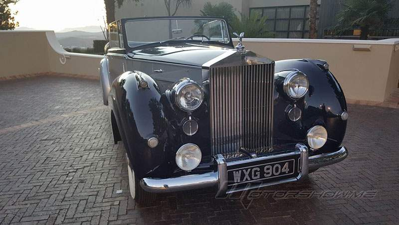 1952 Rolls-Royce Silver Dawn Drophead Coupe