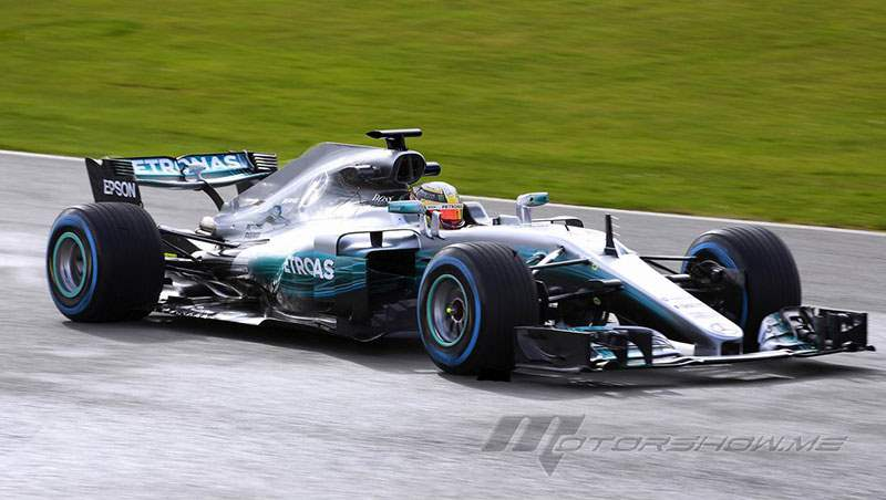 2017 Mercedes W08 EQ Power+