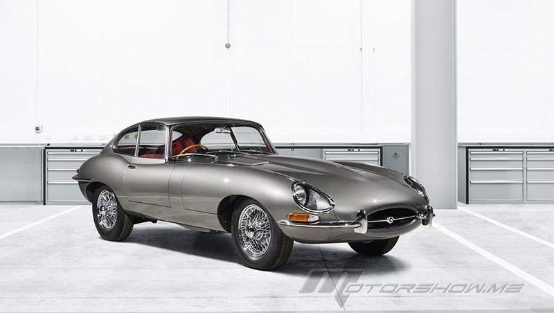 2017 Jaguar E-Type Restoration