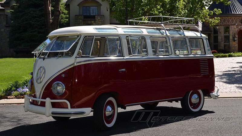 1960 VW 23-Window Samba Bus