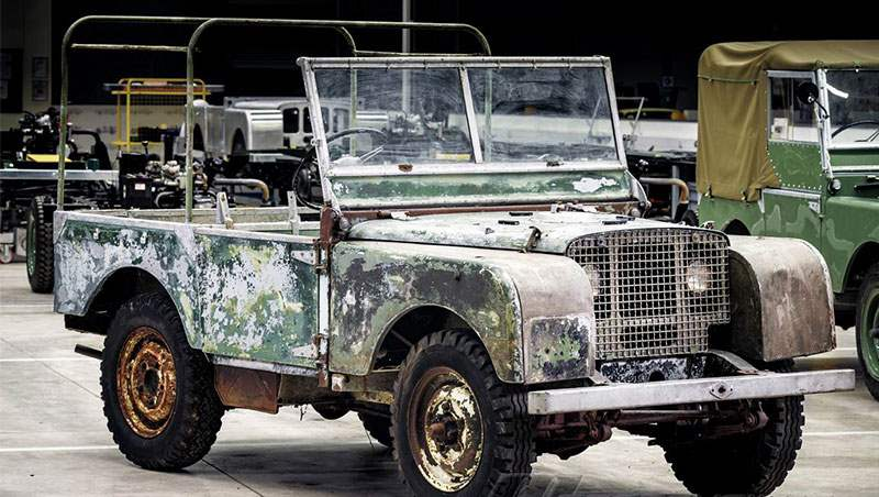 1948 Land Rover First Car