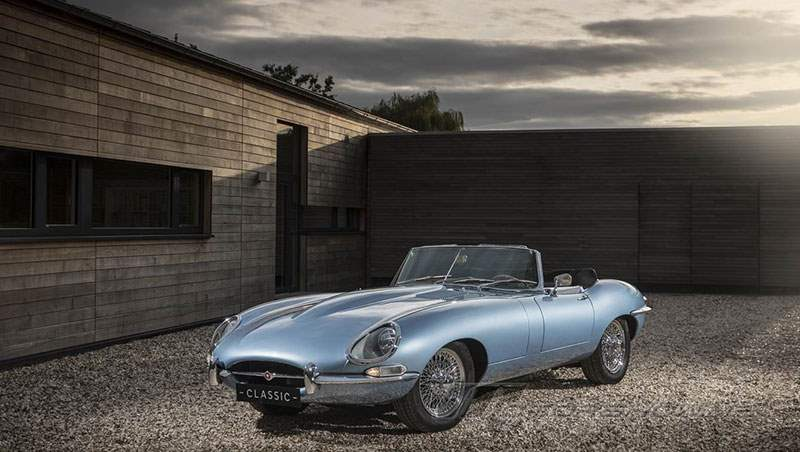 2018 Jaguar E-Type Zero