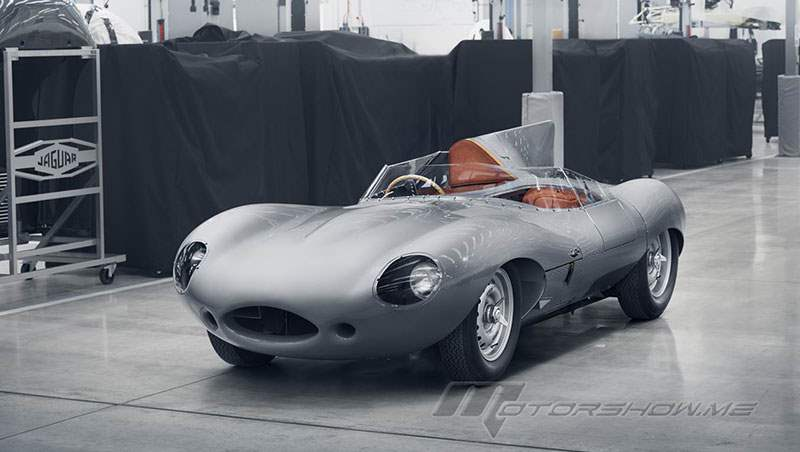 2018 Jaguar D-Type