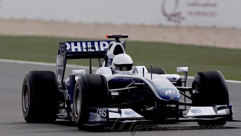 2009 Al-Thani is the first Qatari to drive F1