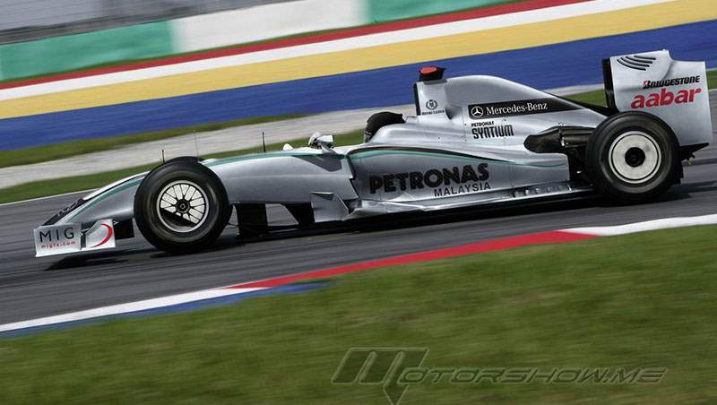 2010 Michael Schumacher joins Mercedes GP