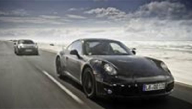 2011 New 911 tested in South Africa