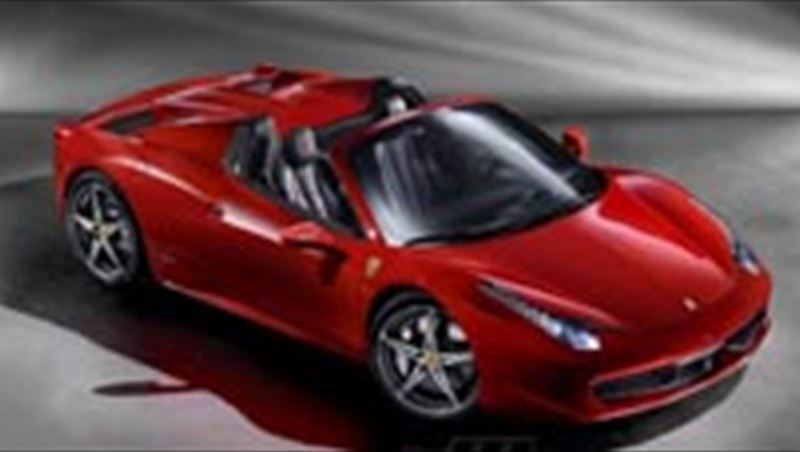 2011 Ferrari 458 Spider First Photos