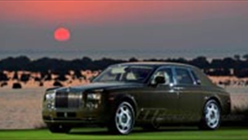 2012 African Themed Rolls-Royce Phantom