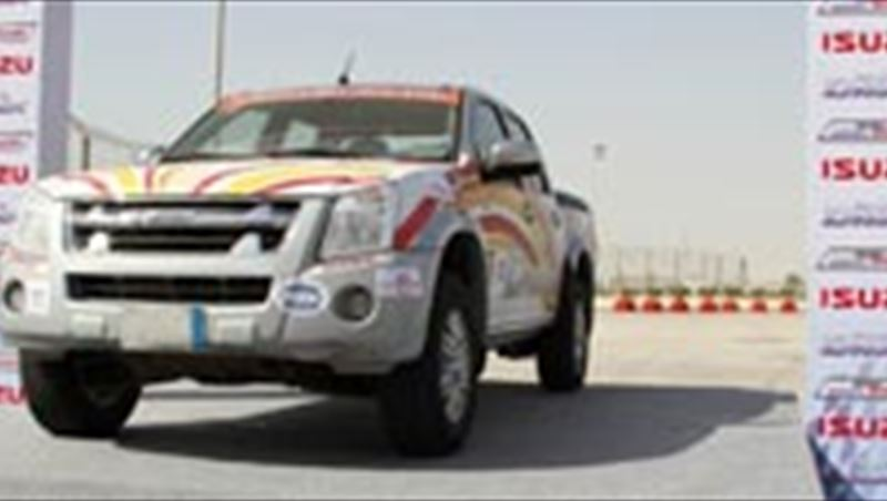2012 D-Max drives over 1,100km through GCC countries without refueling