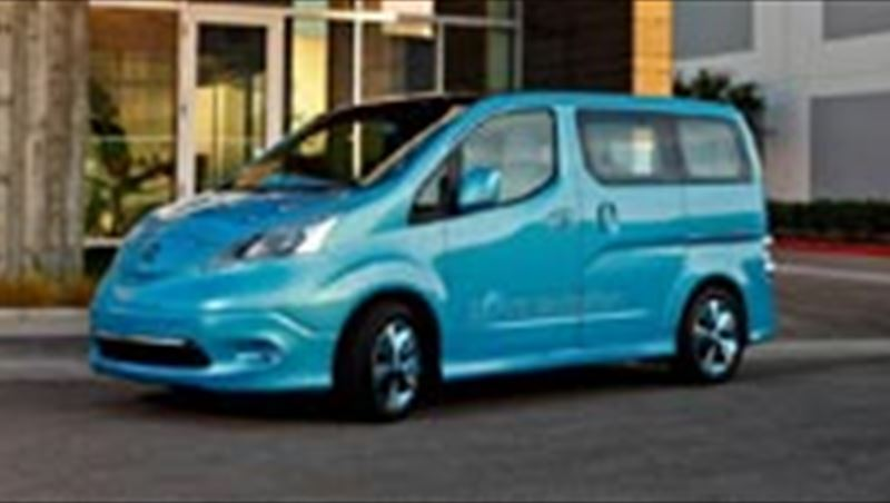 2012 e-NV200 electric compact van to be produced