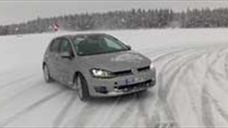 2013 Golf VII Ice Driving Experience in Sweden