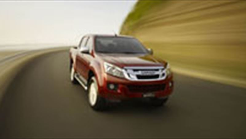 2012 D-Max in the Middle East