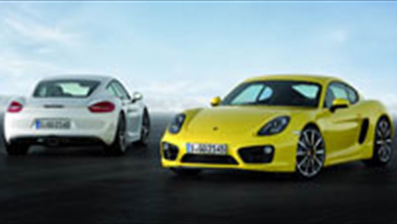 2013 Cayman and Cayman S