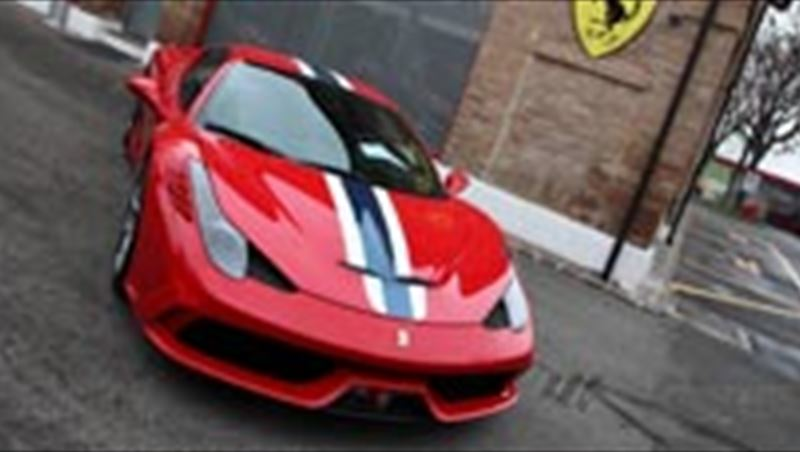 2014 Ferrari 458 Speciale tested by MotorShow