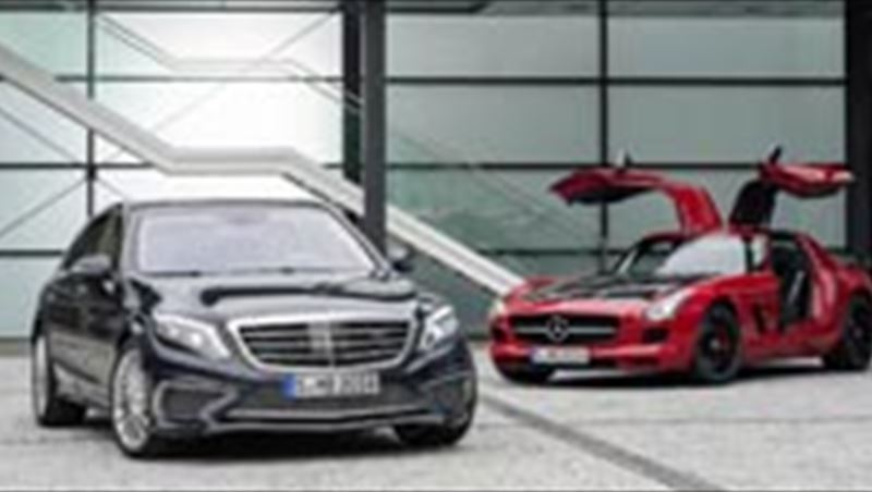 2014 S 65 AMG and SLS AMG GT