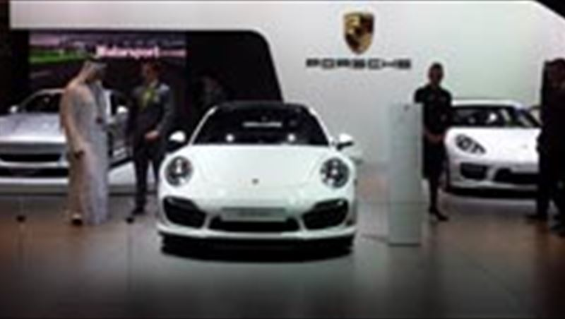 2013 Dubai Motor Show Display