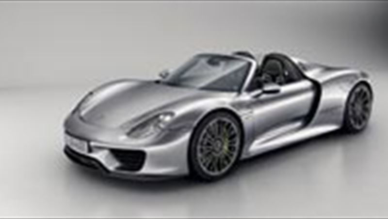 2014 Porsche 918 Spyder First Photos