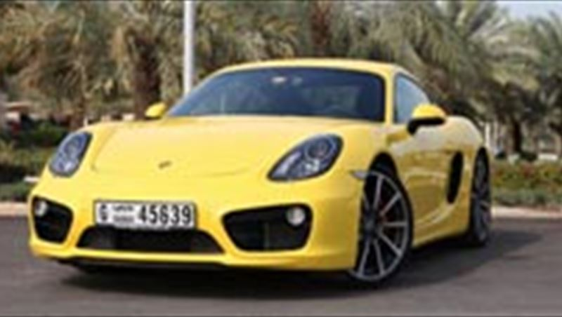 2014 Cayman S tested by MotorShow