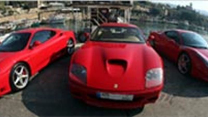 2013 Ferrari Lebanon Christmas Ride