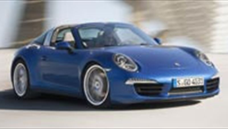 2014 Porsche 911 Targa 4 and 4S