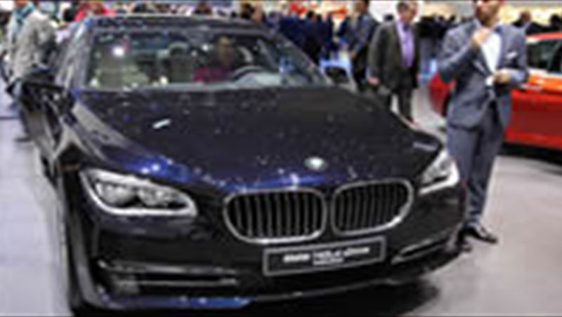 2014 Geneva Motor Show Display