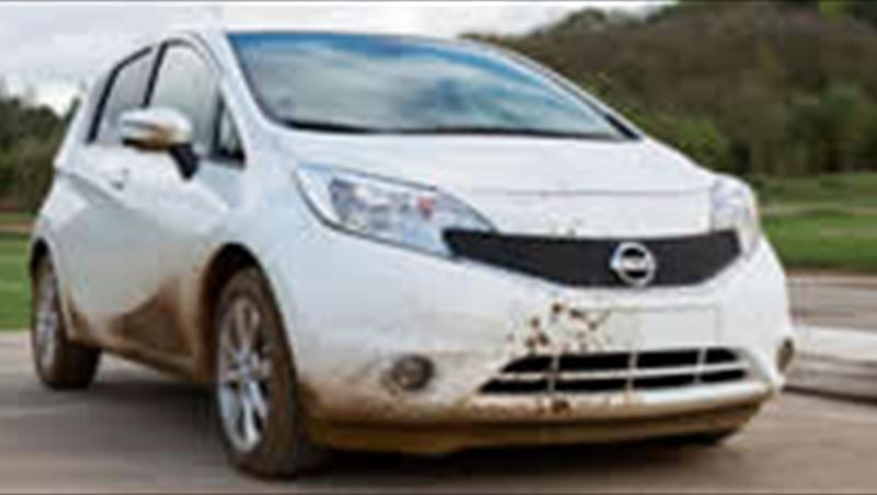 2014 First Self-Cleaning Car Prototype