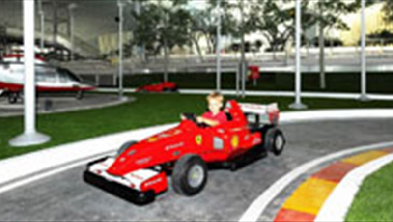2010 Ferrari World Abu Dhabi reveals Junior Grand Prix