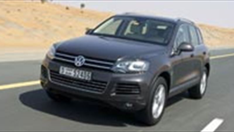 2010 Touareg at Middle East debut