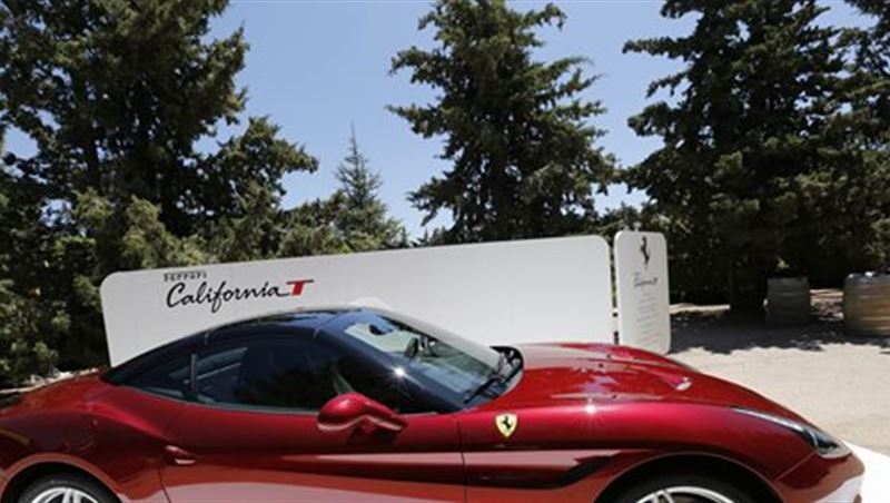2015 Ferrari Owners in Lebanon Ride to Kefraya