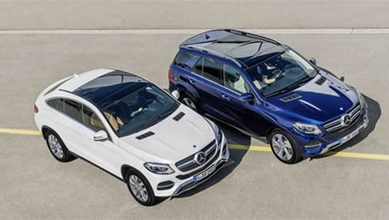 2015 GLE and GLE Coupe Family