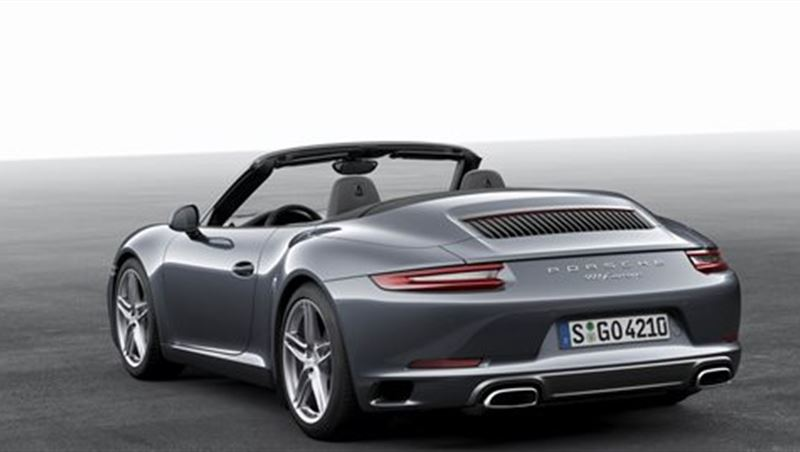2016 Porsche 911 Carrera and Carrera S Cabrio