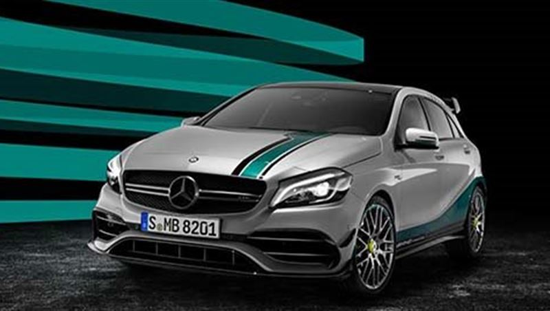 2016 AMG A 45 4MATIC World Champion Edition
