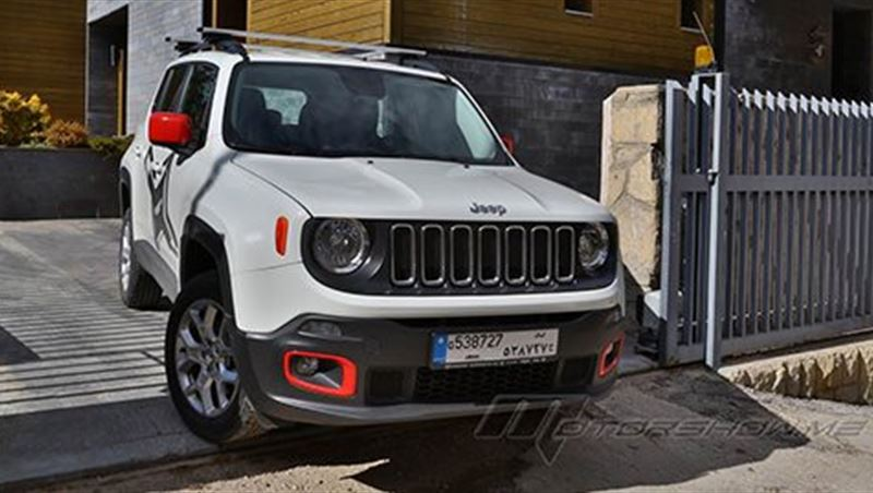 2016 Renegade tested by MotorShow